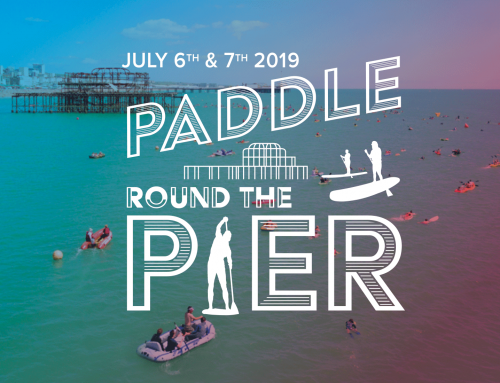 Paddle round the pier Brighton 2019